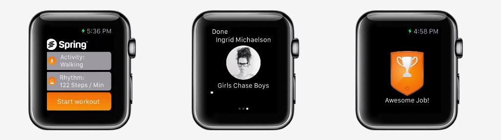 Spring Apple Watch