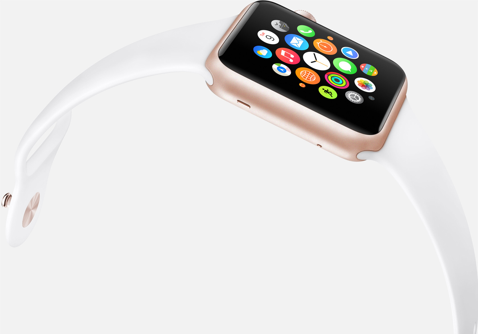 Apple Watch Sport Gold