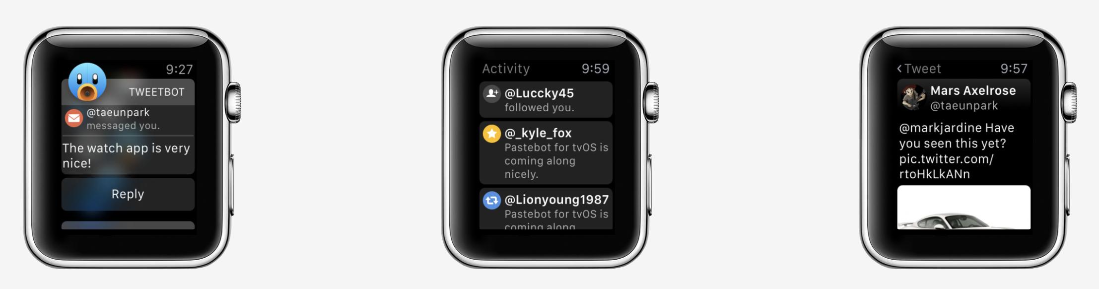 tweetbot apple watch