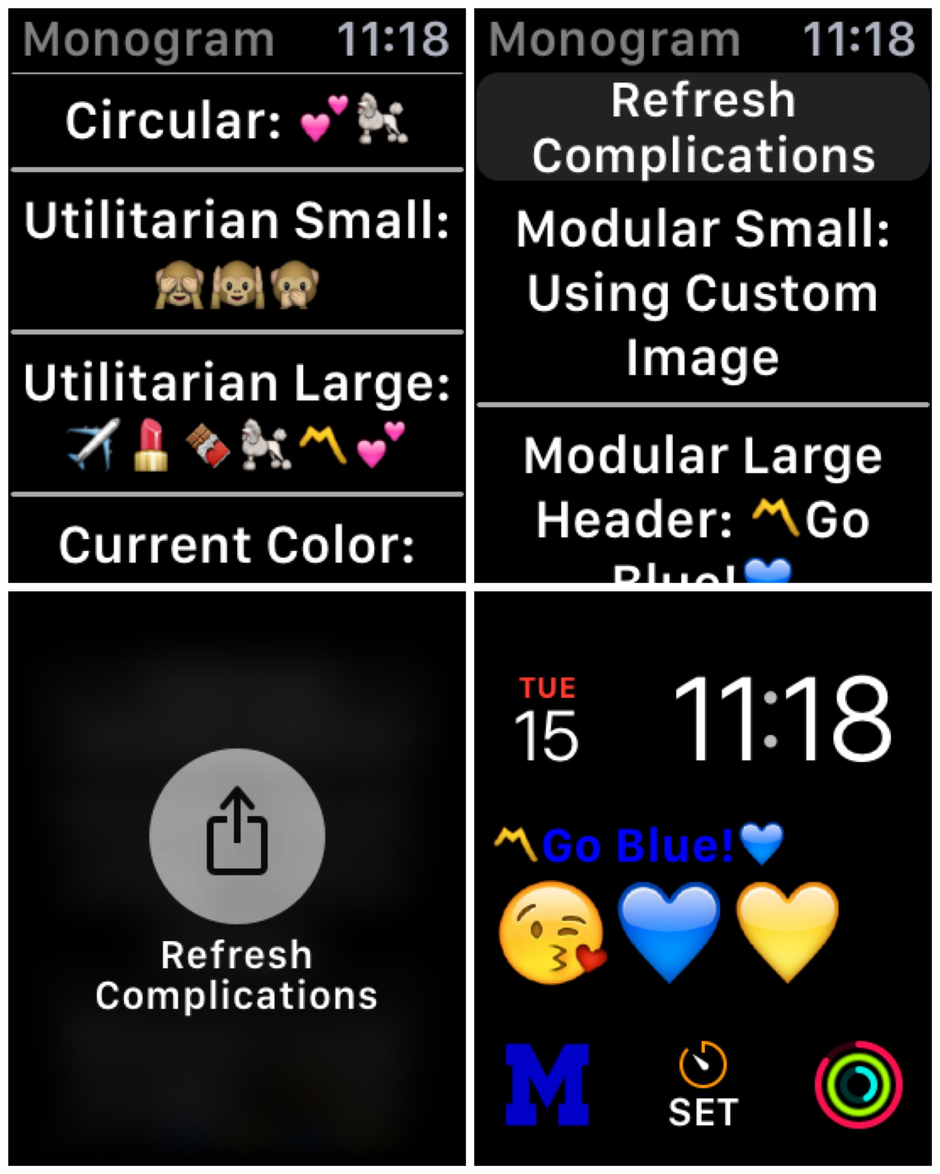 Monogram Plus Lets You Truly Customize Your Apple Watch Face Watchaware