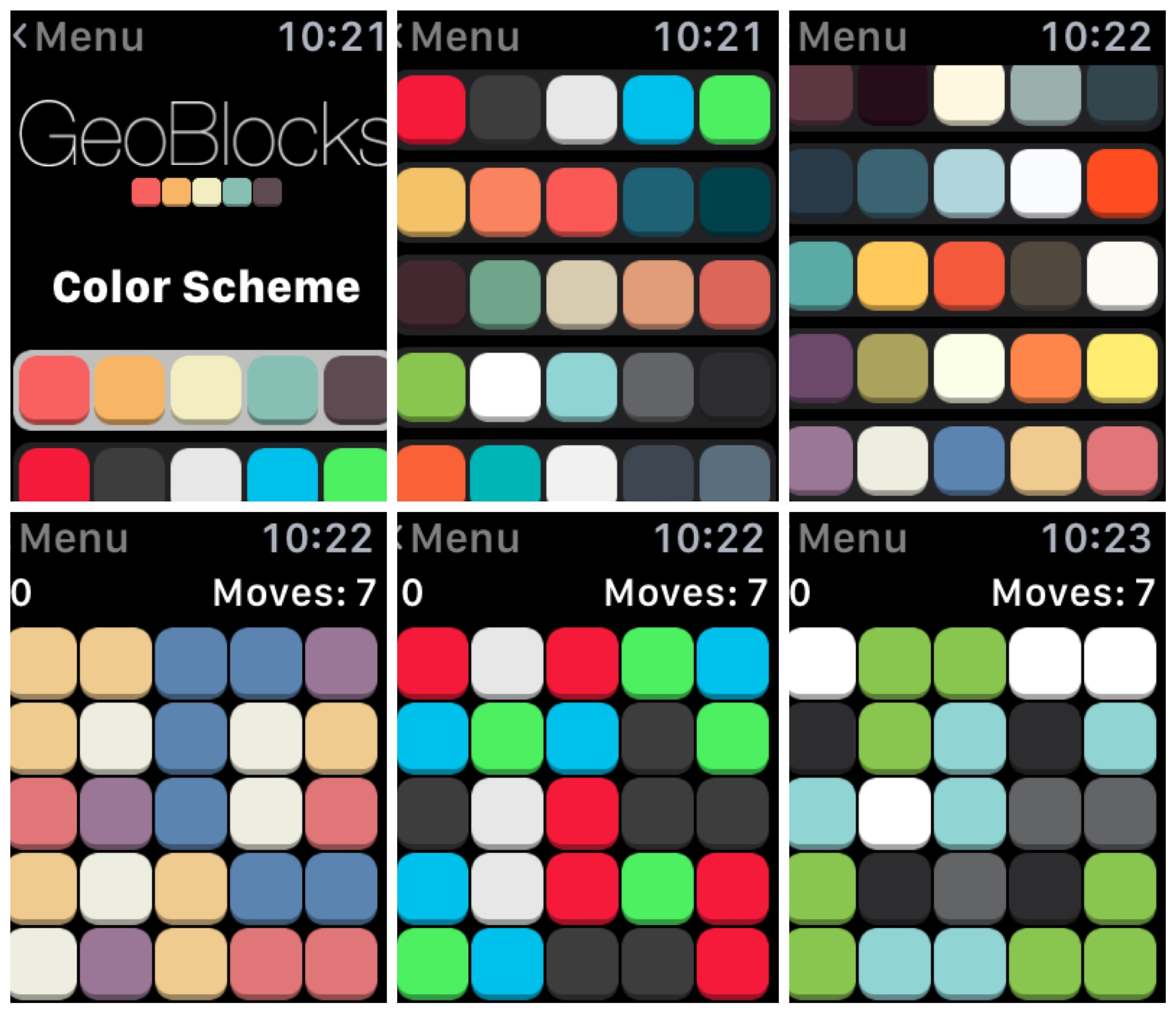 GeoBlocks Is a Simple, Appealing Game on the Apple Watch | Watchaware