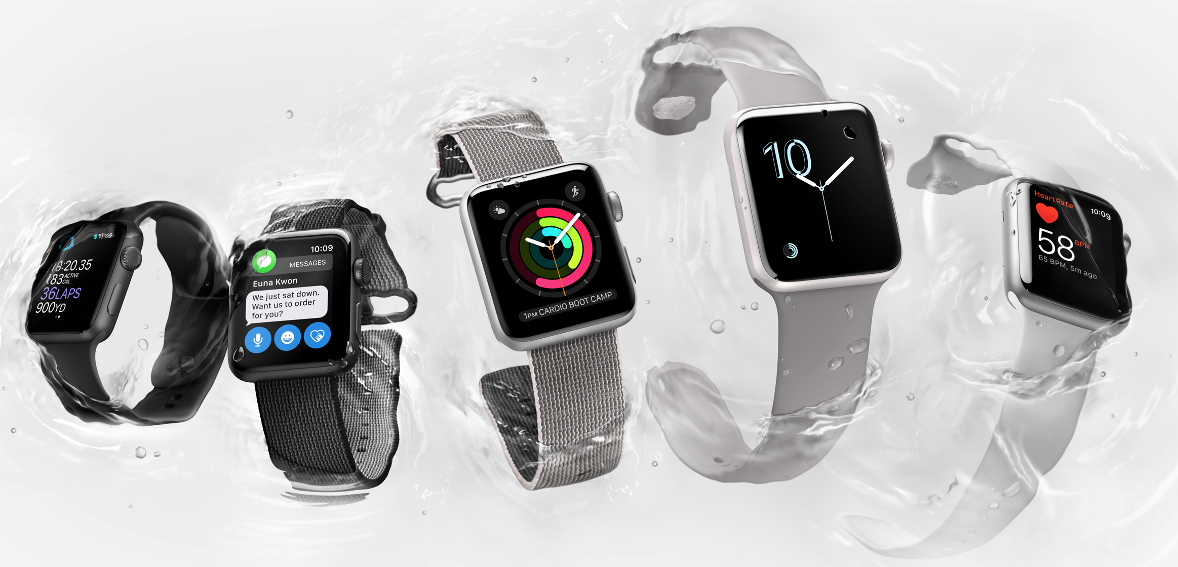 apple watch series 2 waterproof