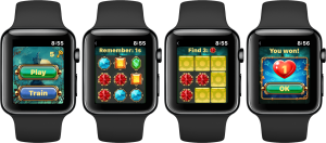 memory game clockmaker match3 game
