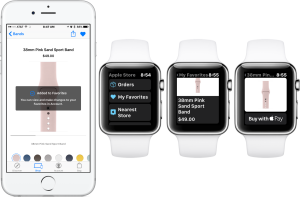 apple store app apple watch