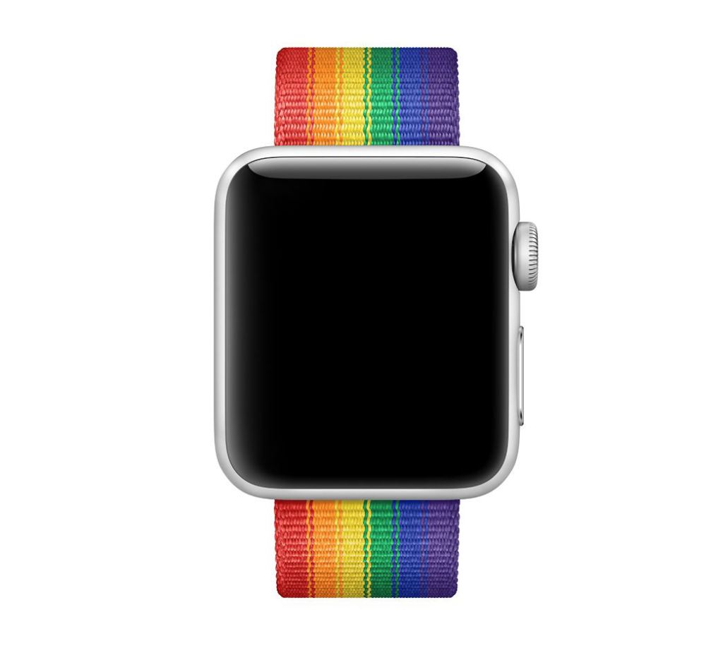 pride apple watch band summer wwdc 2017