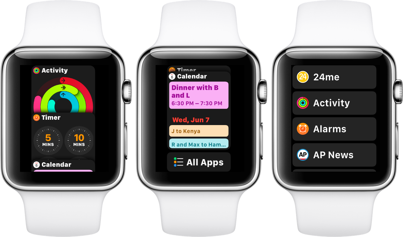 watchOS 4 beta