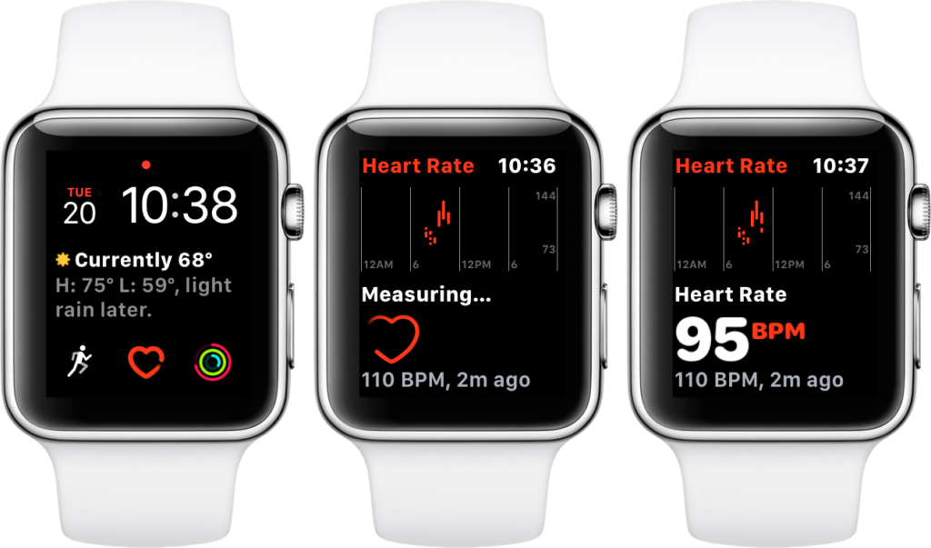 watchos 4 features heart rate