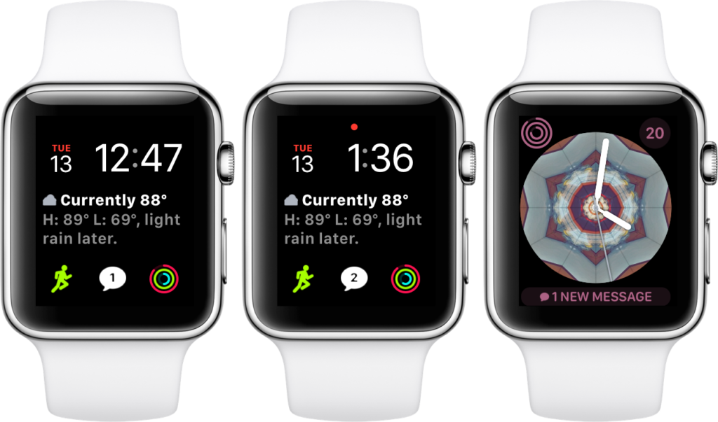 watchos 4 features messages