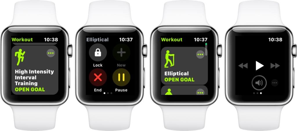 watchos 4 features workout