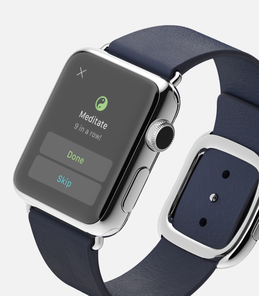 build better habits with productive and your apple watch