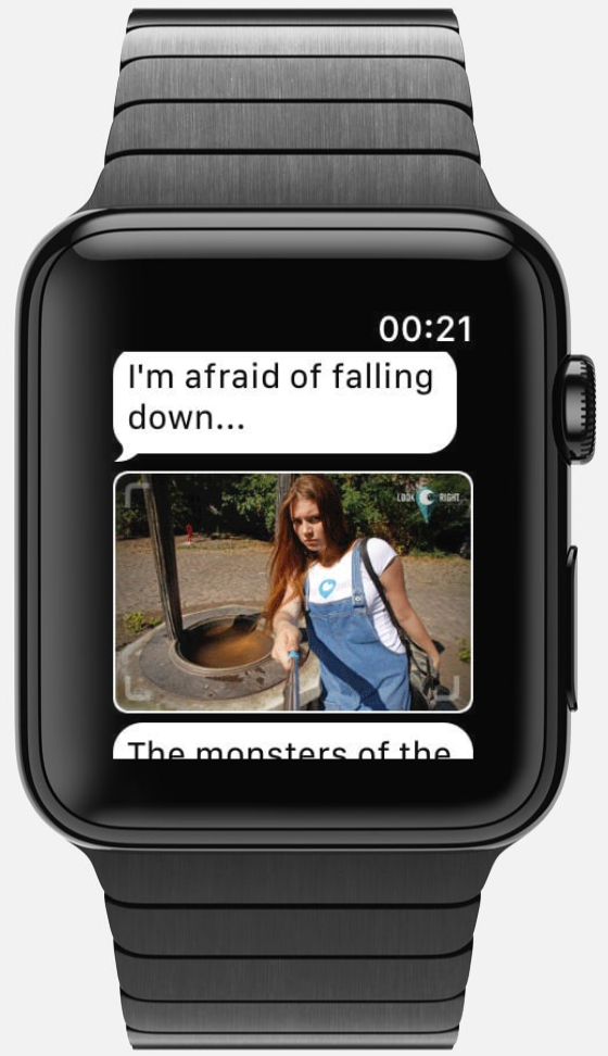 Look Right Apple Watch Choose Your Own Adventure