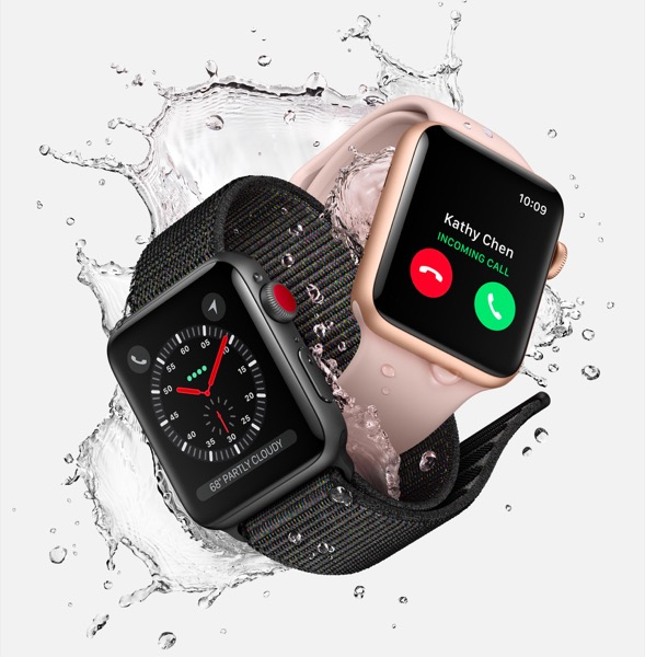 various options for apple watch series 3