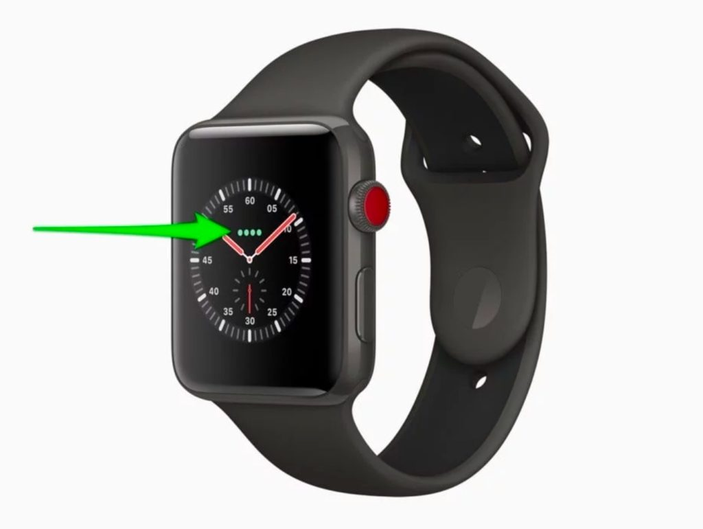 Apple Watch signal meter