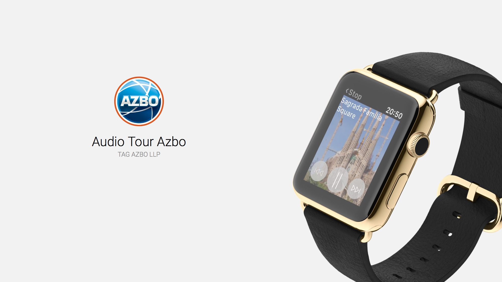 tour guide on your wrist