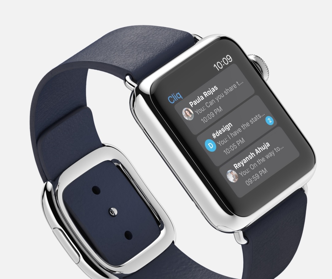 Cliq Apple Watch